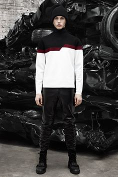 Alexander Wang Fall 2014 Menswear Collection Slideshow on Style.com