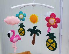 flamingo pineapple nursery baby - Google Search
