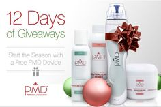Make sure you have entered our 12 Days of Giveaways! Following us on Pinterest counts as and entry and **REPINNING THIS IS ONE* #PMD #Giveaway #goodluck