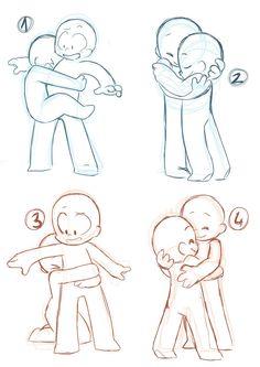 Hug Poses