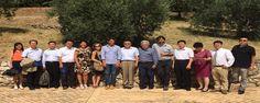 Delegazione cinese in visita a Cori