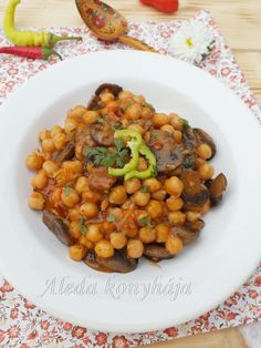 Vegas, Sweet And Salty, Chana Masala, Food And Drink, Dishes, Vegetables, Cooking, Healthy, Ethnic Recipes