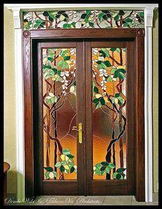 Stained Glass Door by TC Bülent Güngüney