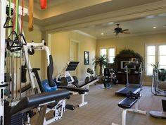 Alan Jackson's Nashville estate: Home Gym