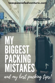 My 8 Biggest Packing Mistakes - And How to Avoid Them - Teaspoon of Adventure Packing Tips For Travel, Travel Advice, Travel Essentials, Travel Quotes, Travel Hacks, Mission Trip Packing, Travel Ideas, Europe Packing, Packing Cubes