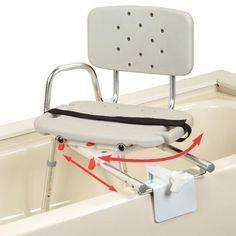Snap-n-Save Sliding Tub-Mount Transfer Bench with Swivel Seat u0026 Back Sliding Swivel Seat Tub Mount Transfer BenchDurable and easy to use the Sliding Swivel  sc 1 st  Pinterest : tub transfer chair - Cheerinfomania.Com