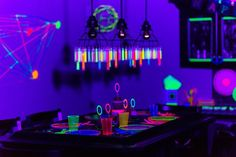 Ready for a birthday bash that will make her scream? Don't miss the ideas in this Glow Dance Birthday Party at Kara's Party Ideas! Dance Party Birthday, Girl Birthday Themes, Dj Party, Neon Party, Music Party, Party Time, 10th Birthday, Birthday Ideas, Glow Stick Party