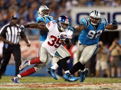 Giants' defence foils all of Cam Newton's plans in win over Panthers