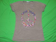 T-Shirt Peace Gr.140/146