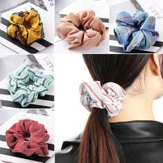 Xugar Hair Accessories Ponytail Scrunchies Headband Women Girls Stretch Snake Skin Gum For Hair Rope Rubber Bands Hairbands Apparel Accessories