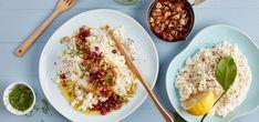 Kjøp Stekt flyndre, blomkålsalat med hasselnøttsmør og resten av ukeshandelen med ett klikk! Stekt flyndre med en kremet rå blomkålsalat er en ny og spennende rett som hele familie kommer til å like!
