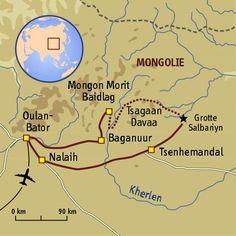 Steppe by steppe sur les pas de Gengis #mongolie #trekking #sport #aventure