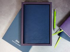 By opting for the customisable Duo notebook, and mixing tray and sleeve colours, JGM created a that reflects their uniquely. Blind Embossing, Custom Made Gift, Luxury Packaging, Event Marketing, Notebook Design, Custom Notebooks, Custom Cards, Bespoke, Screen Printing