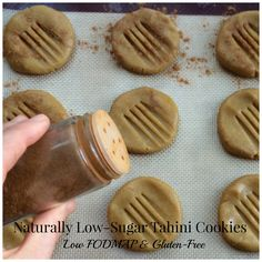 With only 4g of sugar per serving, how can these be cookies? Tahini is your new favorite low sugar secret!