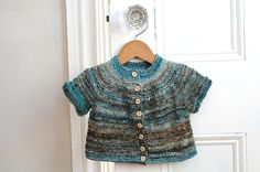 fashion inspiration in a wee knit piece, by amanda. I would absolutely wear this in my size. colors, buttons, texture.