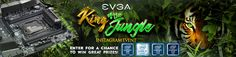 Enter @TeamEVGA's King of the Jungle Instagram Event to win great prizes from @TEAMEVGA & @INTELGAMING!