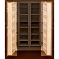 Swing Out Complete Pantry System, Rev A Shelf 4W Series Door Mount