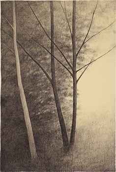 Shigeki Tomura : The Three Trees at Davidson Galleries