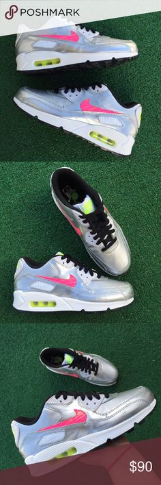 Women's Nike Air Max 90 sneakers •Size 5Yor 6.5 women 23.5cm • brand new •Authentic •Box not included Nike Shoes Athletic Shoes