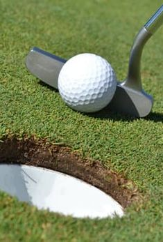 Golf Putting Tips - Putting Is More Important Than Driving. Direction control is all about reading your putt to look for the slope, grain, and speed. ... Indoor Putting Mats, Golf Putting Tips, Golf Chipping, Club Face, Putt Putt, Best Player, Golf Tips, Golf Ball, How To Become