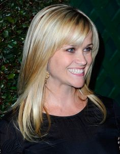 Best Hairstyles With Bangs For Fine Hair Reese Witherspoon Ideas - Best Hairstyles With Bangs For Fine Hair Reese Witherspoon Ideas - Side Bang Haircuts, Side Bangs Hairstyles, Long Face Hairstyles, Haircuts For Long Hair, Haircuts With Bangs, Straight Hairstyles, Trendy Hairstyles, Heart Shaped Face Hairstyles, Glamorous Hairstyles