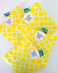 DIY Floral washi flags kit.