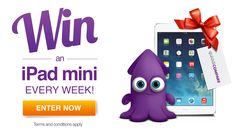 Enter this competition to win this awesome iPad Mini 2 from Quiddi Compare