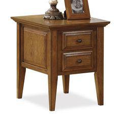 Oak Ridge Side Table by Riverside Furniture