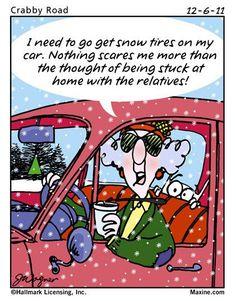 Snow tires...