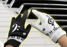 This is a pretty unique gadget. It's a pair of gloves that works just like if you had a real piano to play with. Just put on the gloves and use any surface as it was a piano. Each finger tip represents a note and the device features 8 different instrument sounds, 8 background rhythms, and 6 built-in demo songs.