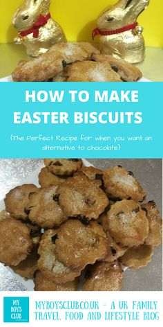 My Boys Club: How to Make Easter Biscuits - The Perfect Recipe for when you want an alternative to chocolate