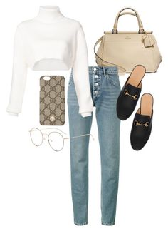 """""""Untitled #23488"""" by florencia95 ❤ liked on Polyvore featuring Coach, Balenciaga, Alexandre Vauthier and Gucci"""