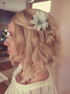 easy curls for shoulder length hair. talahairlife.blogspot.com