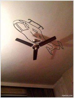 Creative chopper:)