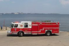 Orchard Beach Volunteer Fire Department, MD - Squad 11 - 2008 E-One Cyclone II Heavy Rescue