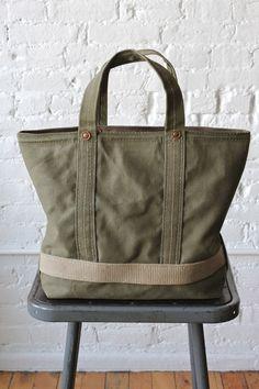 WWII era Canvas Tote Bag