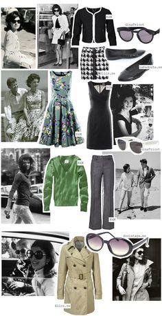 Jackie O. style.