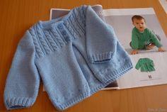 modele gratuit de layette a tricoter