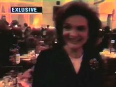 """Last public appearance of Jackie Kennedy Onassis. With """"very special words for Channel 11"""", or her just saying what a lovely night it was in passing. But still..."""