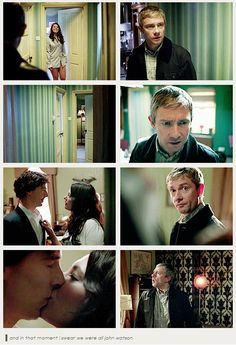 John's reactions were my reactions. The confusion!