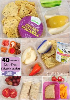 School Lunch Ideas to help you discover new things to pack in your kids lunch box! StuffedSuitcase.com