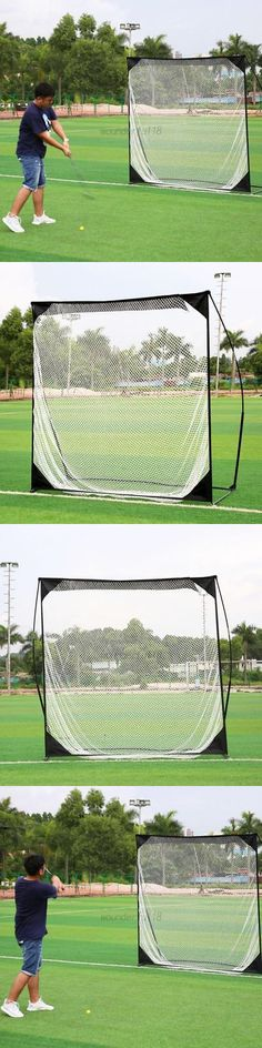 Nets Cages and Mats 50876: Portable Golf Practice Net Training Striking Range Hitting Mat Outdoor Bag Us -> BUY IT NOW ONLY: $111.74 on eBay!