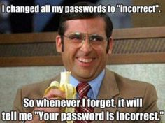 Change all your passwords to incorrect and have websites reminding you of your own password!!