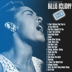 BILLIE HOLIDAY - The best DISC TWO CD COVER