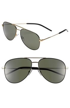 Saint Laurent 59mm Aviator Sunglasses | Nordstrom