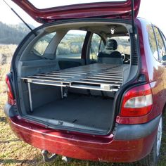 Would you like to go camping? If you would, you may be interested in turning your next camping adventure into a camping vacation. Camping vacations are fun and exciting, whether you choose to go . Kangoo Camper, Suv Camper, Truck Bed Camper, Mini Camper, Camping Box, Minivan Camping, Camping Gear, Camping Hacks, Vw Sharan
