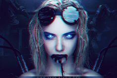 Robot Girl - Photoshop 2018 © by Benjamin Chassara aka Ness #robotgirl #robot #future #photoshop #electrogirl #cyborg Robot Girl, Artworks, Photos, Photography, Art Pieces, Art