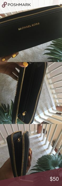 Michael Kors Wallet Brand new worn once for prom. Michael Kors Bags Wallets