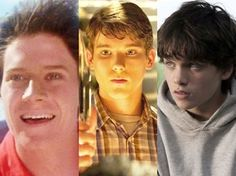 Jeff East em 'Superman', Stephan Bender em 'Superman - o retorno' e Dylan Sprayberry em 'O homem de aço' (Foto: Divulgação)