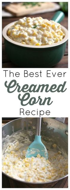 This creamed corn side dish is the perfect balance of sweetness and spice. Don't skimp on the fat, just embrace this indulgent treat of creamy, buttery, super sweet corn for what it is!